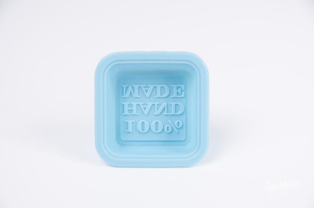 Silikónová forma na mydlo Handmade