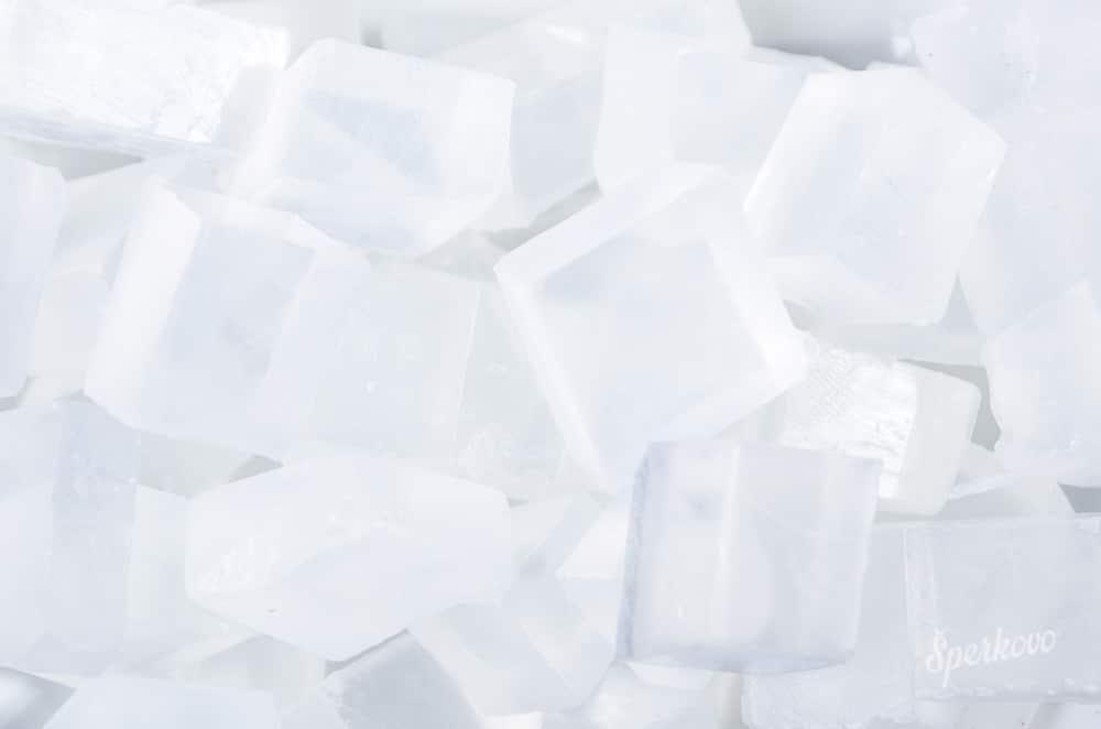 Glycerínová mydlová hmota priehľadná