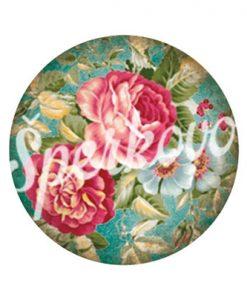 Grafický motív na šperky kvety