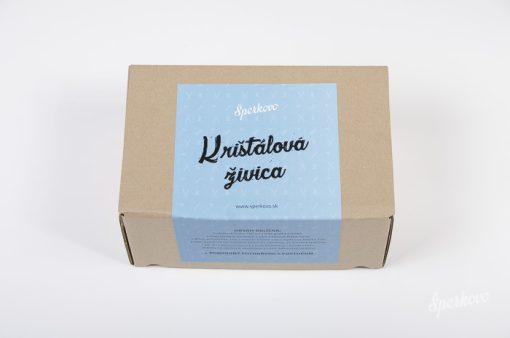 Štartovací balíček Krištálová živica pre začiatočníkov