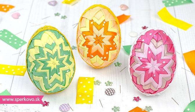 Podrobný fotonávod na falošný patchwork vajíčka