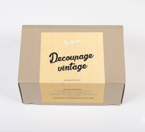 Štartovací balíček dekupáž