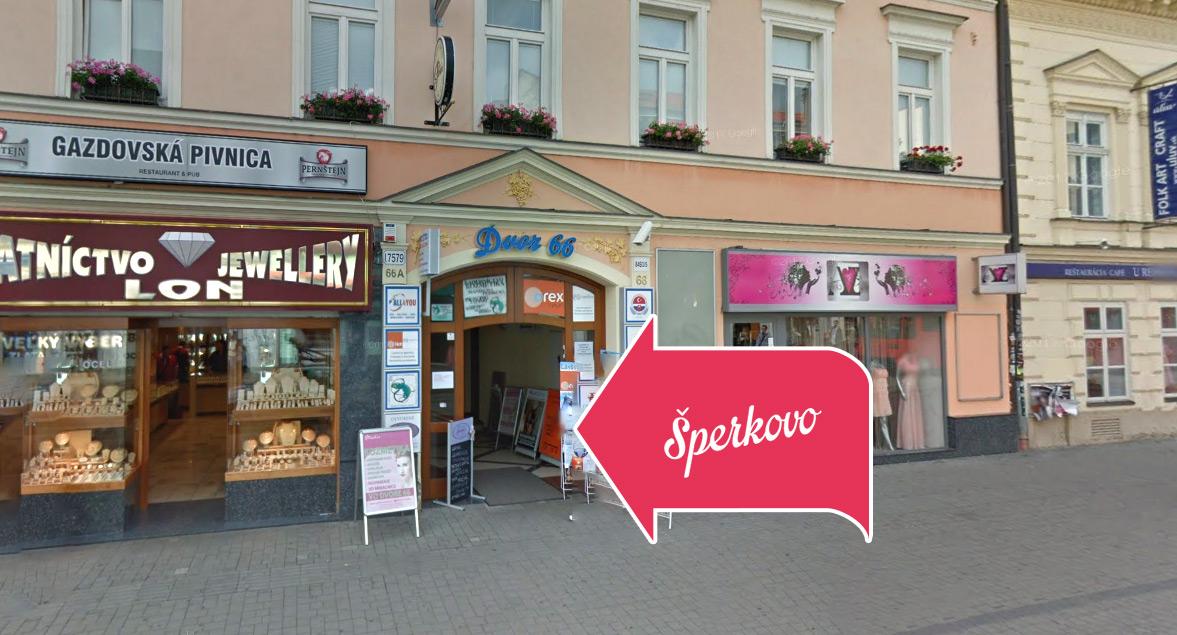 Kreatívne potreby Šperkovo Obchdná Bratislava