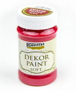 Akrylová farba Decor Paint kardinálska červená
