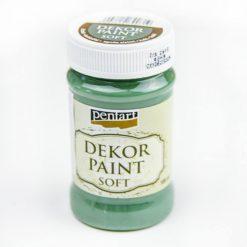 akrylova farba decor paint khaki zelena
