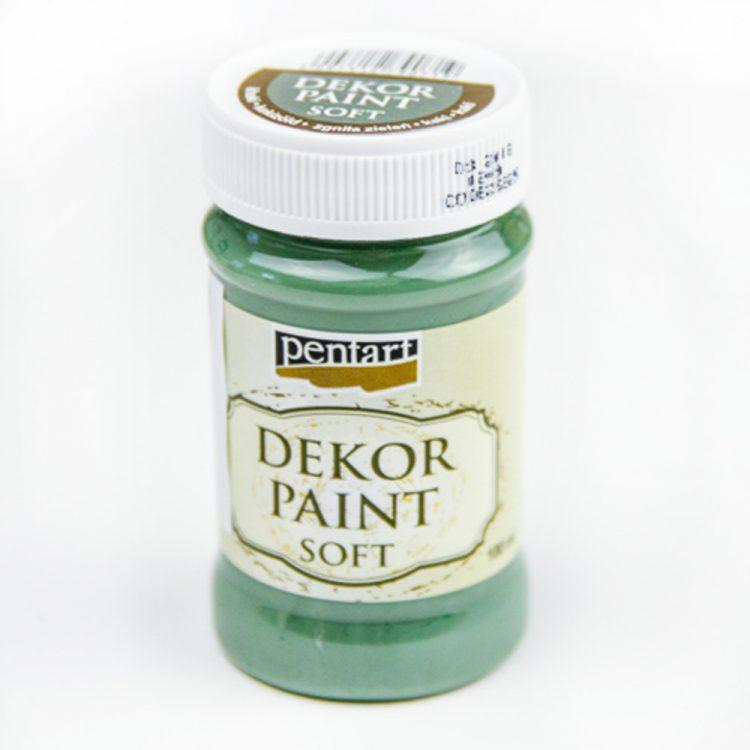 Akrylová farba Decor Paint khaki zelená