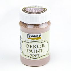 akrylova farba decor paint mliecna cokolada