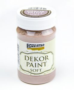 Akrylová farba Decor Paint mliečna čokoláda