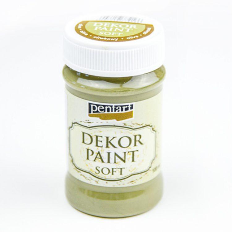 Akrylová farba Decor Paint olivová