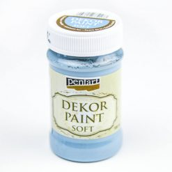 akrylova farba dekupaz decor paint lanova modra