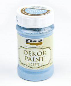 Akrylová farba dekupáž Decor Paint ľanová modrá