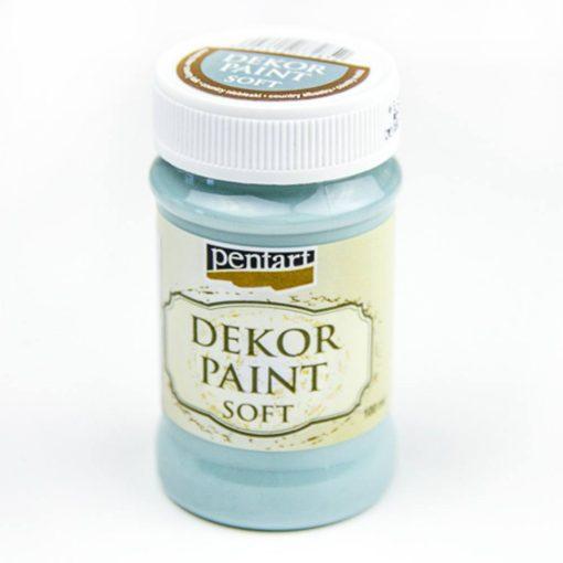 akrylova farba na dekupaz decor paint country modra