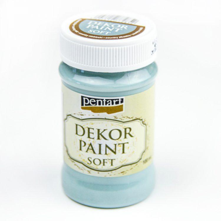 Akrylová farba na dekupáž Decor Paint country modrá