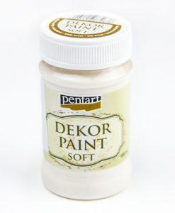 Akrylová farba na dekupáž Decor Paint škrupinkovo biela