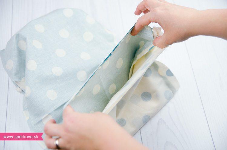 Kreatívny návod na šitý nákrčník