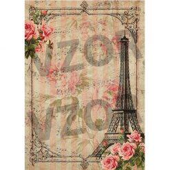 Ryžový papier na dekupáž R899