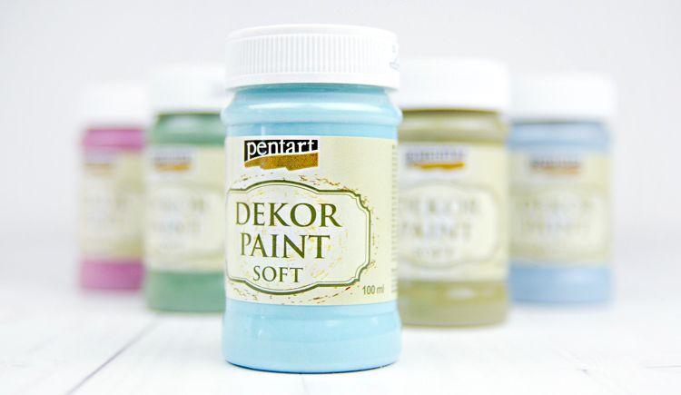 akrylove farby na decoupage