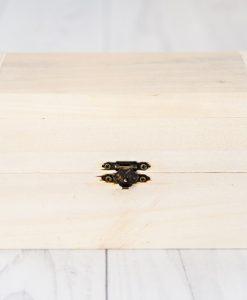 Decoupage drevená krabička veľká