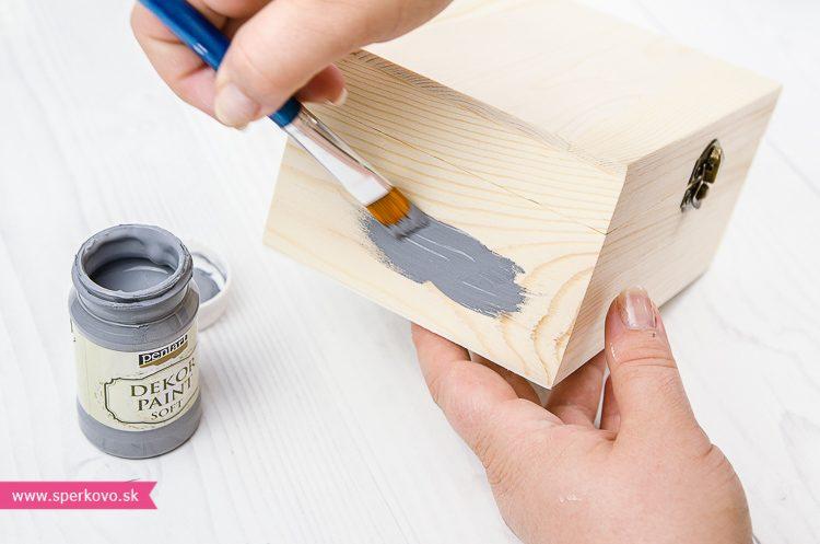 Návod ako použiť praskajúce krakelovacie farby