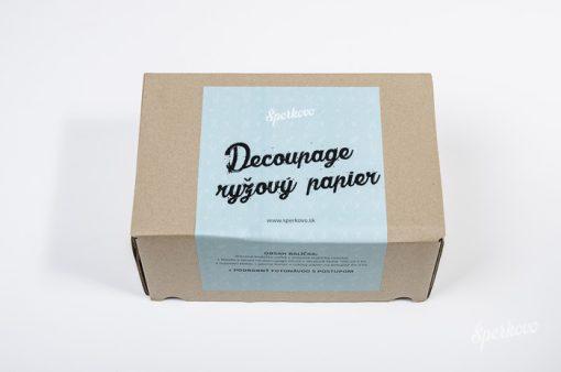 Štartovací balíček Decoupage ryžový papier