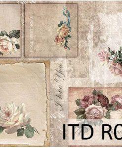 Ryžový papier na decoupage R013L