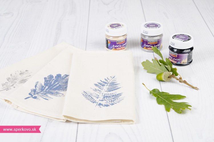 ako si vyrobit jednoduche prestieranie s pouzitim farieb na textil 13