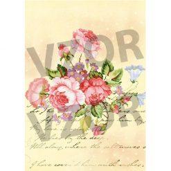Ryžový papier A4 R179
