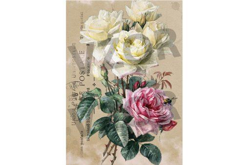 Ryžový papier na dekupáž R1013