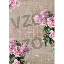 Ryžový papier servítková technika R174