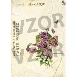 Ryžový papier dekupáž R671