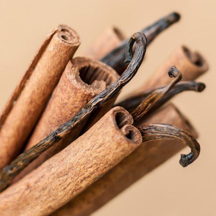 Vanilka a škorica vôňa do mydla a kozmetiky
