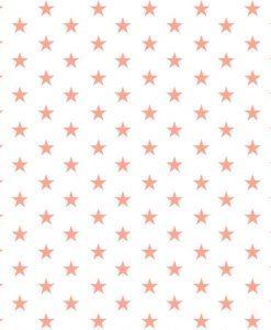 100-bavlnena-latka-na-patchwork-koralove-hviezdicky-na-bielej