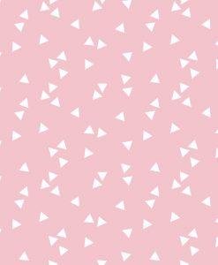 bavlna-na-patchwork-biele-trojuholniky-na-ruzovej