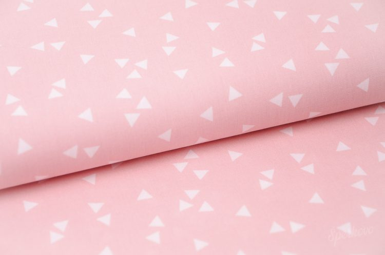 Bavlnené látky geometrické vzory