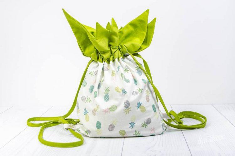 Kreatívny návod ako ušiť batoh pre menšie deti