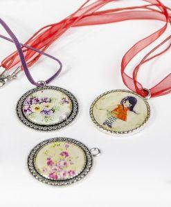 Kreatívny kurz Krištálová živica zalievané šperky