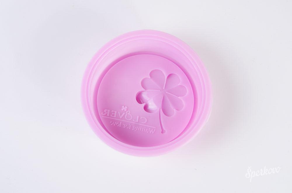 Forma na mydlo silikónová Štvorlístok s nápisom