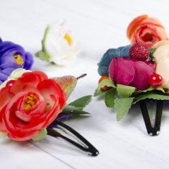 Kvetinové sponky a ozdoby do vlasov