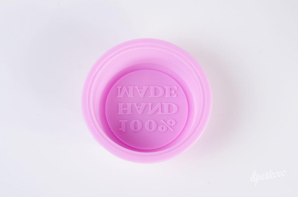 Okrúhla forma na mydlo 100 % hand made