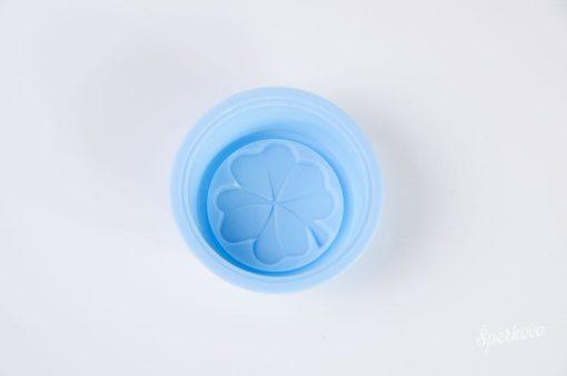 Silikónová forma na mydlo 3D štvorlístok