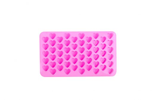 Silikónová forma na mydlo mini srdiečka