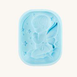 Forma na mydlo silikónová Anjelik chlapček