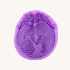 Forma na mydlo silikónová Chlapček a dievčatko