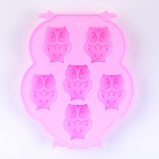 Forma na mydlo sovičky