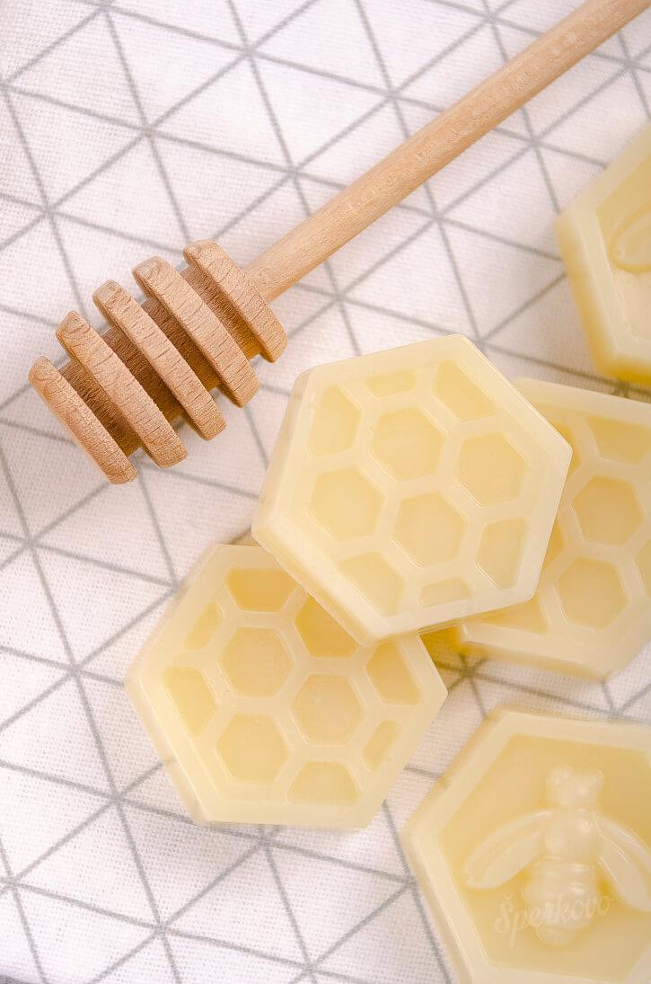Medové mydlo návod