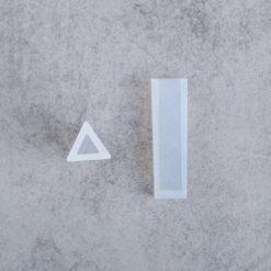 Silikónová forma na šperky prívesok trojuholník