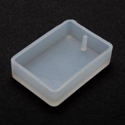 Silikónová forma na živicové šperky obdĺžnik