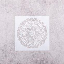 Šablóna na decoupage Mandala