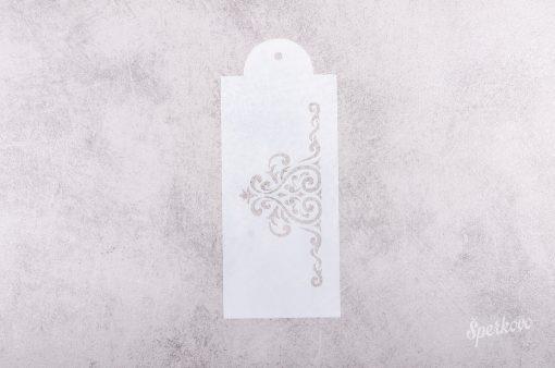 Šablóna na decoupage Ornament bordúra