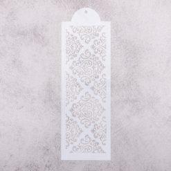 Šablóna na decoupage Ornament bordúra veľká